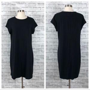 Lou & Grey Black T Shirt Dress